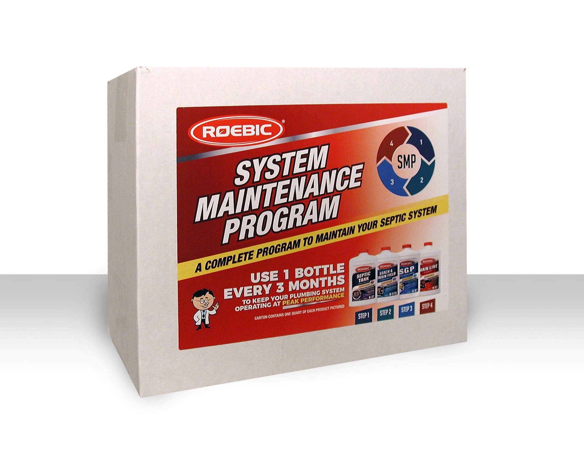 Roebic SMP-1000-PAK-1 Septic System Maintenance Kit by Roebic