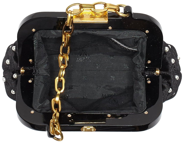 Hb Tm.02 W13, Femmes Bracelet, Noir (noir), 6x17x16 Cm (bxht) Marc Cain