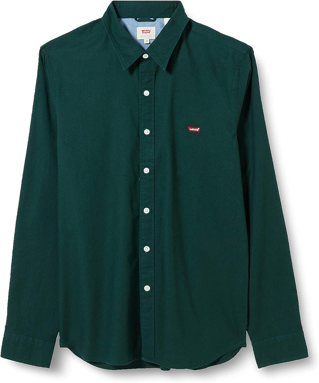 Levis ® LS Housemark Camisa de Manga Larga Pine Grove: Amazon.es: Ropa y accesorios