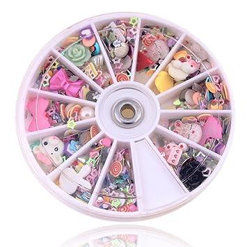 Amazon 1200 Pcsnice Popular 3d Nail Art Wheel Full Design