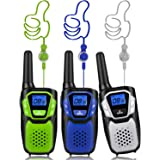 Topsung Walkie Talkies for Adult, Easy to Use Rechargeable Long Range Walky Talky Handheld Two Way Radio with NOAA for…