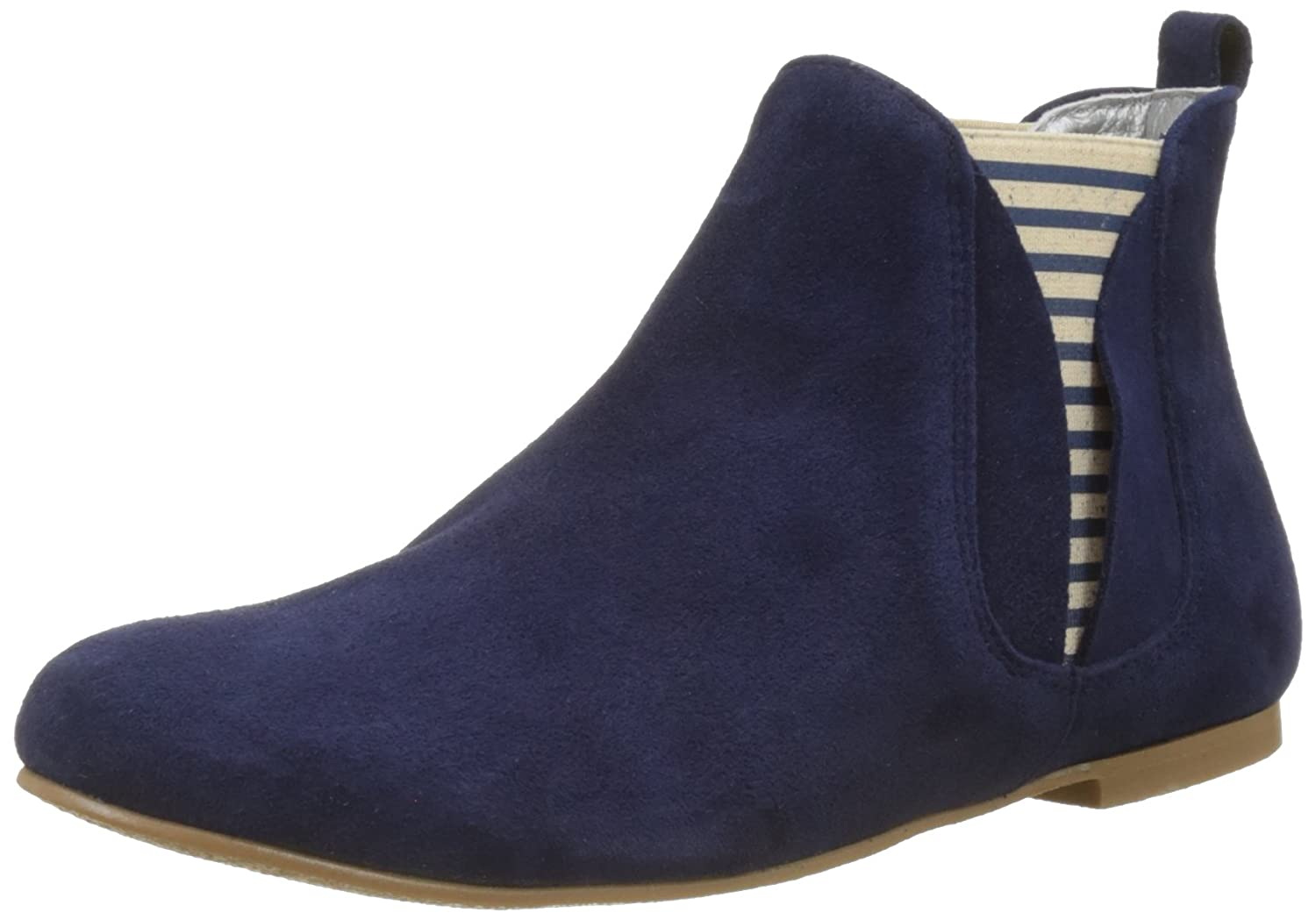 Ippon Vintage Damen Patch-Flyboat Chelsea Stiefel