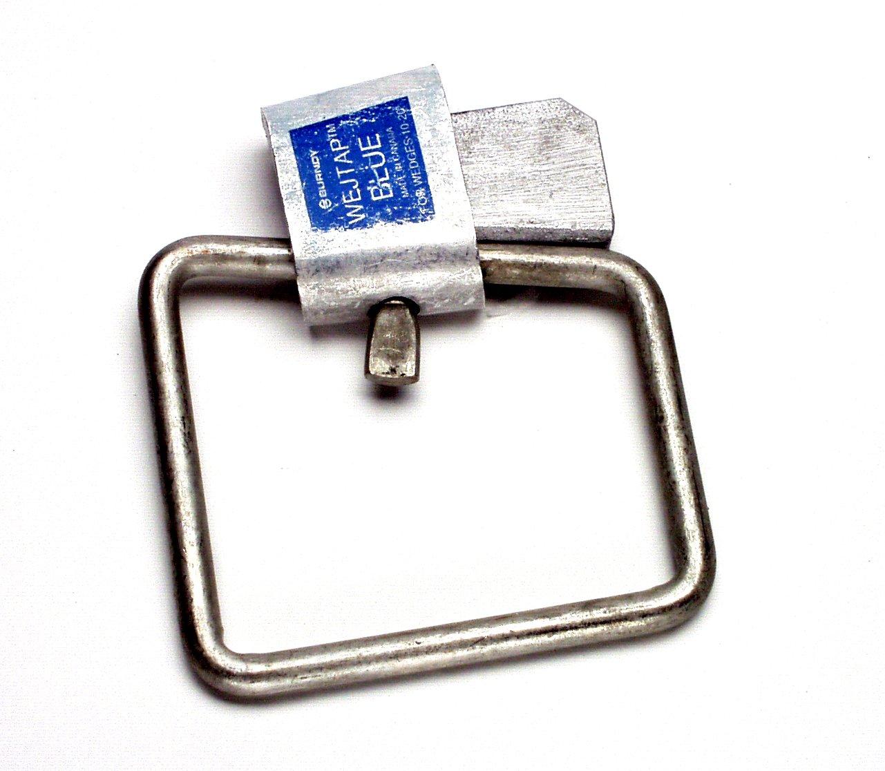0.375 Maximum Tap 0.938 Maximum Diameter Pack of 10 3//0-4//0 Nominal Cable Range Burndy WSM4 Wejtap Stirrup 0.563 Maximum Run