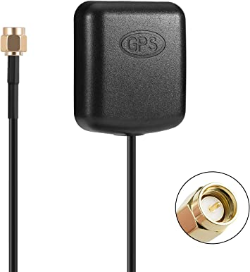 Blizim Coche GPS Activa Antena 28dB con SMA Conector: Amazon ...