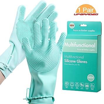 Amazon.com: Guantes de lavavajillas con correa ...
