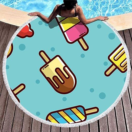Shinelly EIS - Toalla de Playa, Esterilla de Yoga, Mandala ...