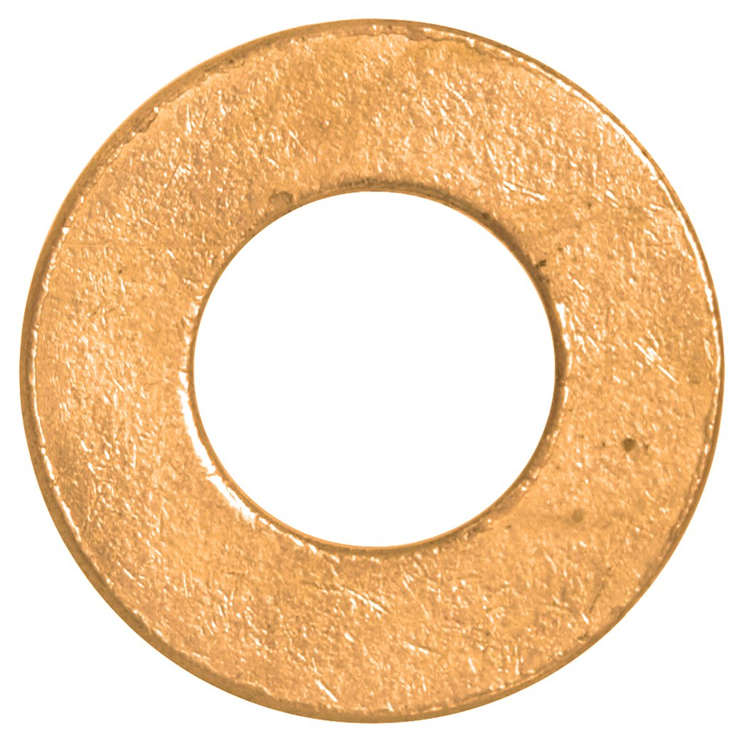 The Hillman Group The Hillman Group 1293#6S Flat Washer Brass 50 Pack