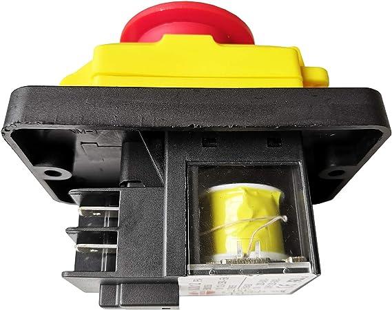 KEDU KJD12-14 250V 6 Pins Industrial Saw Drill Pushbutton Switches Machine Parts
