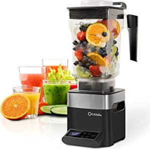 Oda Kitchen Blender Smoothie Blender, 1450W High Speed Professional Countertop Blender for Shakes and Smoothies 39000 RPM, Built-in Pulse& 10-speeds Control, 50 Oz Dishwasher Tritan Jar
