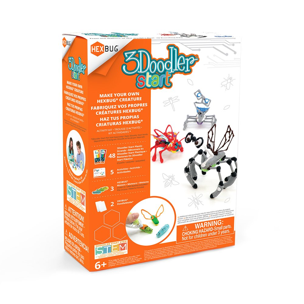 3doodler Start Make Your Own Hexbug Creature Activity The Prize Is A Hexcalator Which Was Featured Here Earlier This Kit 3d Pen Not Included Toys Games