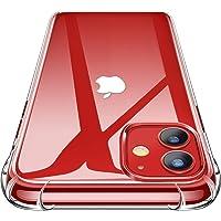 Garegce Coque iPhone 11 (2019) + 2 Pack Verre trempé Protecteur écran, Transparent Silicone [Antichoc Bumper], Souple TPU Protection Case Cover pour iPhone 11 (6.1 Pouces)- Clair