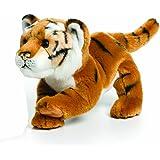 Nat and Jules Brown Tiger Plush Toy, Large