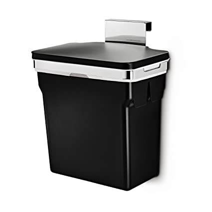 Amazon Com Simplehuman 10 Liter 2 6 Gallon In Cabinet Trash Can