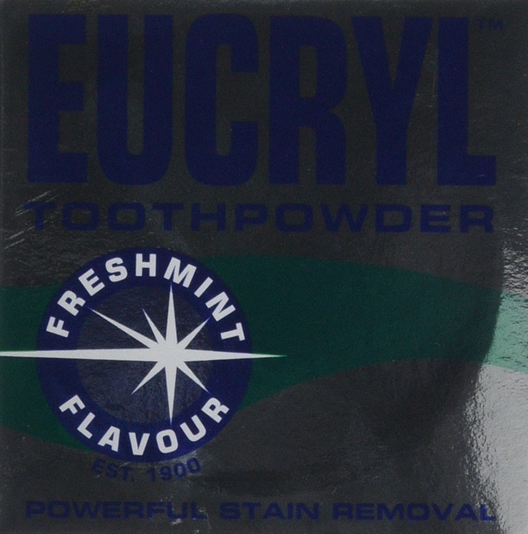 Eucryl 50g Smokers Freshmint Toothpowder Groceries 000990