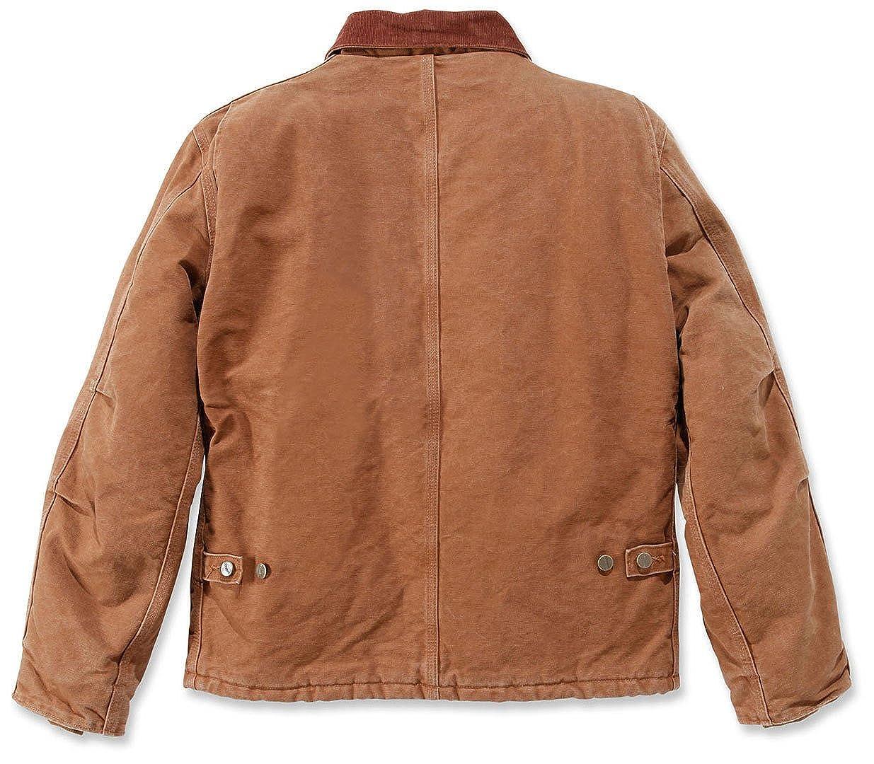 Amazon Carhartt Traditional Jacke Sandstone it M Jacket Black TxzYxrnO