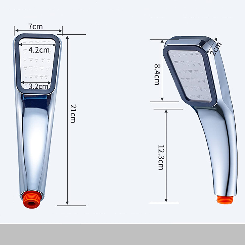Cabezal de ducha iónico de mano de alta presión con ahorro de agua ...