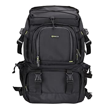 Amazon.com : Evecase Extra Large DSLR Camera / 15.6 inch Laptop ...