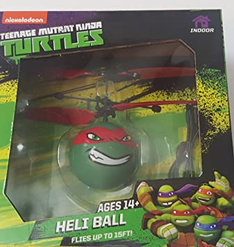 Nickelodeon Teenage Mutant Ninja tortuga Heli bola rojo ...