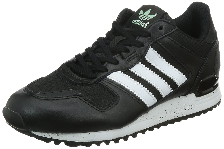 adidas Originals ZX 700 Damen Sneakers  42 EU|Schwarz (Core Black/Ftwr White/Frozen Green F15)