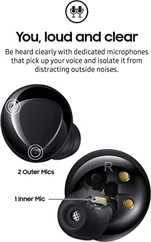 Samsung Galaxy Buds+ Plus, True Wireless Earbuds w/improved battery and call quality (Wireless Charging Case included)