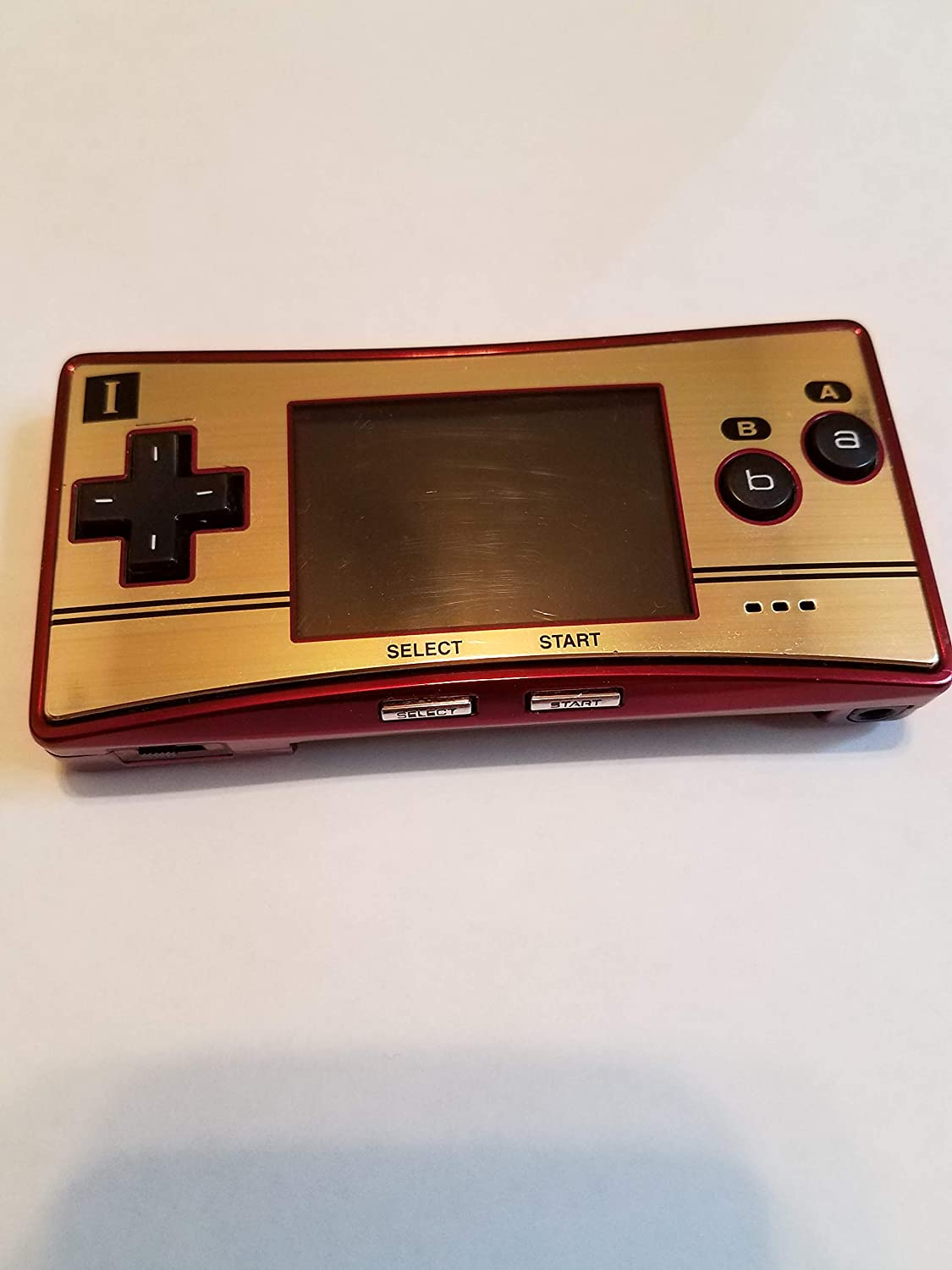 Game Boy Micro - 20th Anniversary Edition - Game Boy Advance