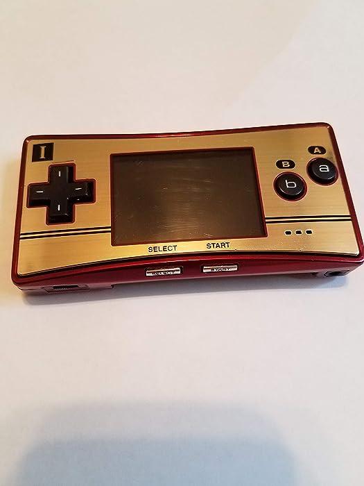 Game Boy Micro - 20th Anniversary Edition - Game Boy Advance