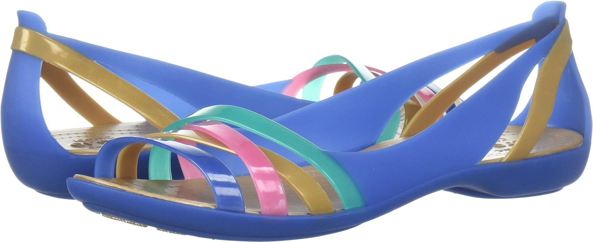 dd360f7ffcbf Crocs Women s Isabella Huarache 2 Flat W Sandal