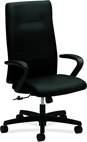 HON Ignition Center-Tilt Executive High-Back Chair, Black