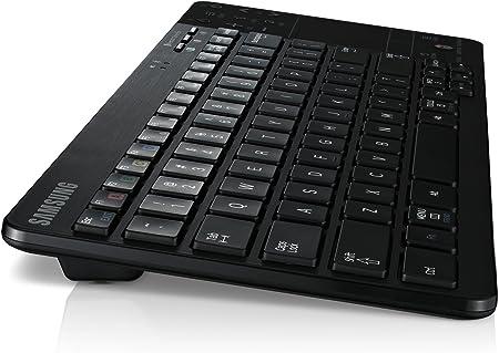 SAMSUNG VG-KBD2000 - Teclado para Smart TV Android con Bluetooth 2.1 (Inalámbrico, con Touchpad, Botones Especiales para Smart Hub), Negro: SAMSUNG: Amazon.es: Informática