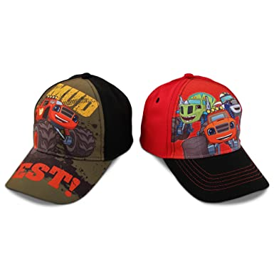 promo code available fast delivery Nickelodeon Toddler Boys Blaze Character Cotton Baseball Cap, 2 ...