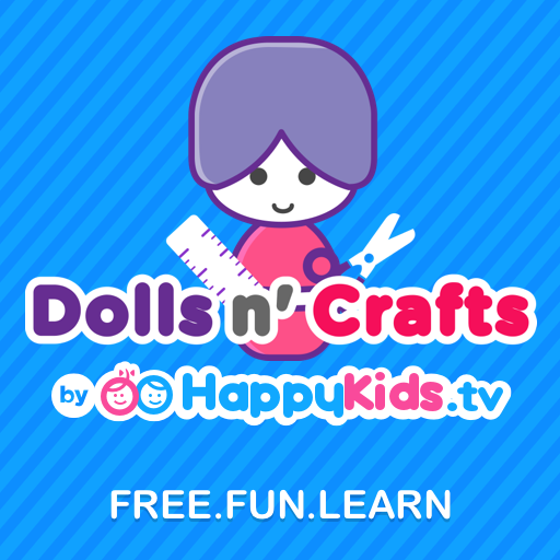 Dolls n' Crafts by HappyKids.tv (Free Monster High Dolls)