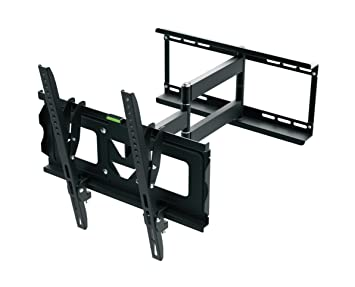 TV Wall Mount, Ematic 19 inch to 70 inch Tilt / Swivel TV Wall Mount