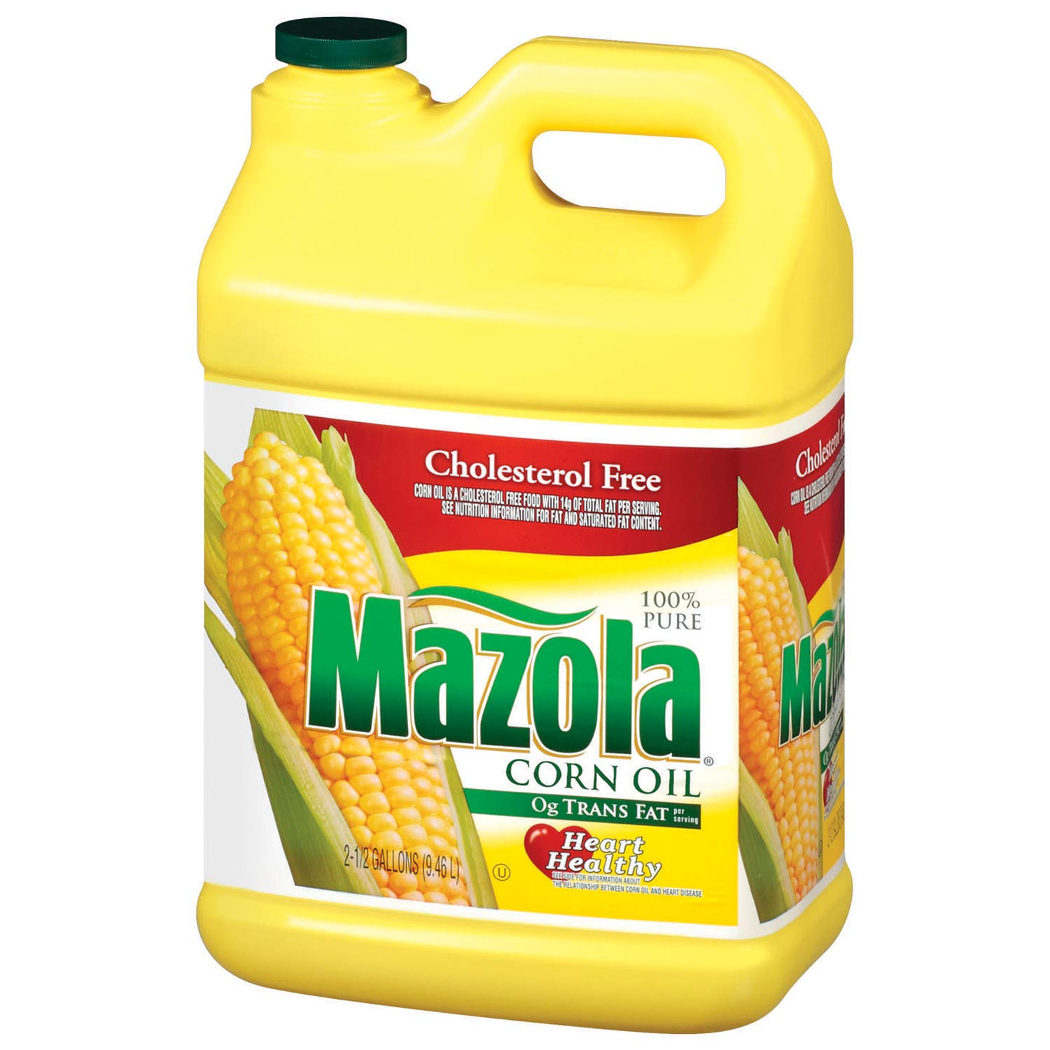 Mazola 100% Pure Corn Oil, 2.5 gal (Pack of 2) by Europe Standard