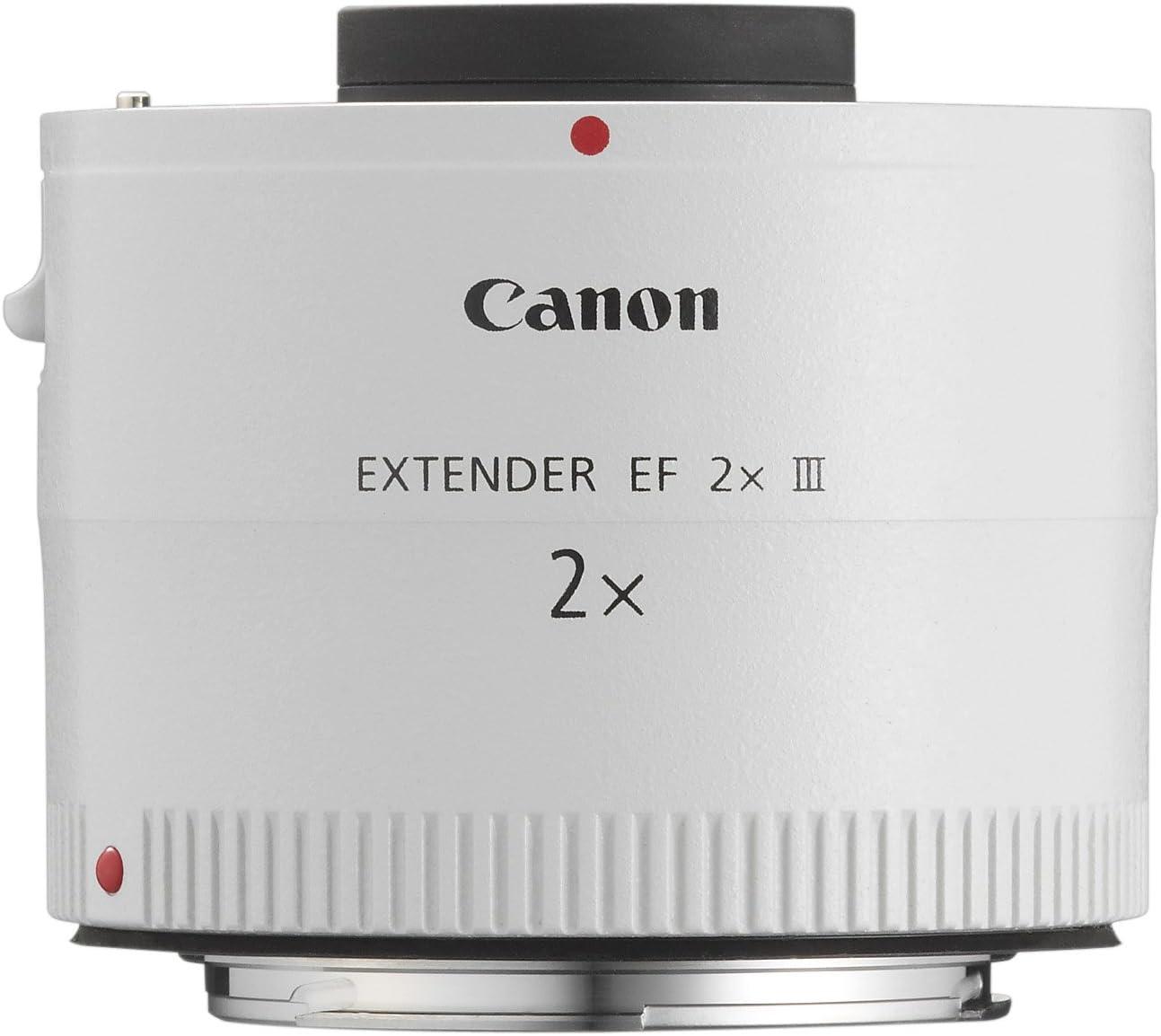 Canon EF 2X III - Adaptador para Objetivos de cámaras Canon EF ...