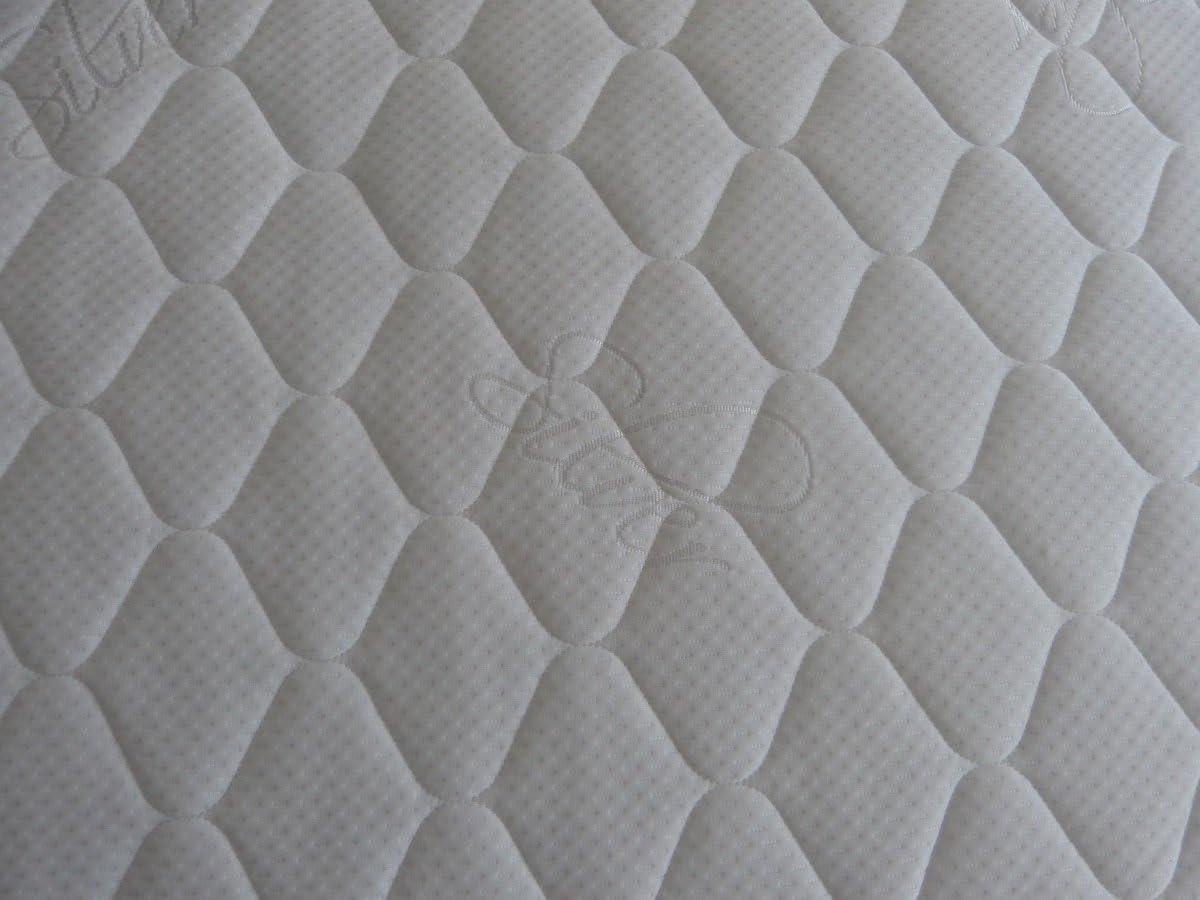 Bazyl Housse de Matelas 80 x 200 cm Al/èse surpiqu/ée 80 x 200 x 22 cm Blanc
