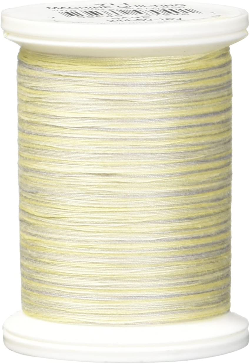 500 yd YLI 24450-07V 3-Ply 40wt T-40 Cotton Quilting Variegated Thread Teals