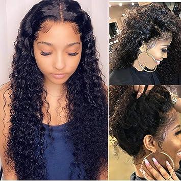 Suerkeep Deep Wave Human Hair Lace Front