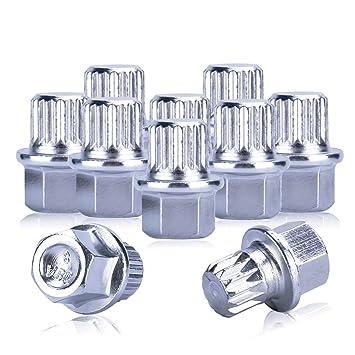 Bloqueo de Rueda, udiag llave de bloqueo automático herramientas Tire bloqueo antirrobo de rueda tornillo llaves sólo para VW coches (10pcs): Amazon.es: ...