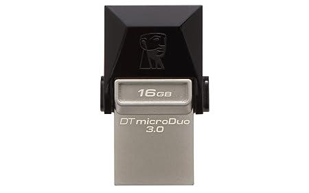 Kingston DataTraveler MicroDuo 16 GB USB 3.0 OTG Pen Drive  DTDUO3/16 GB