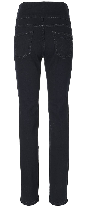 UK sizes 8-16 Dark denim petite//regular//long leg Mama Jeanius maternity jeans: Denim band Straight