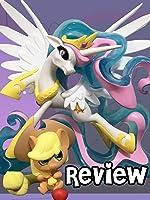 My Little Pony Guardians Of Harmony Fan Series Princess Celestia Review & We Love Fine Applejack Chibis Vinyl.