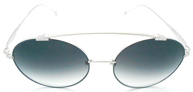 Amazon.com: Matsuda m3044 Ronda Plata anteojos de sol: Clothing