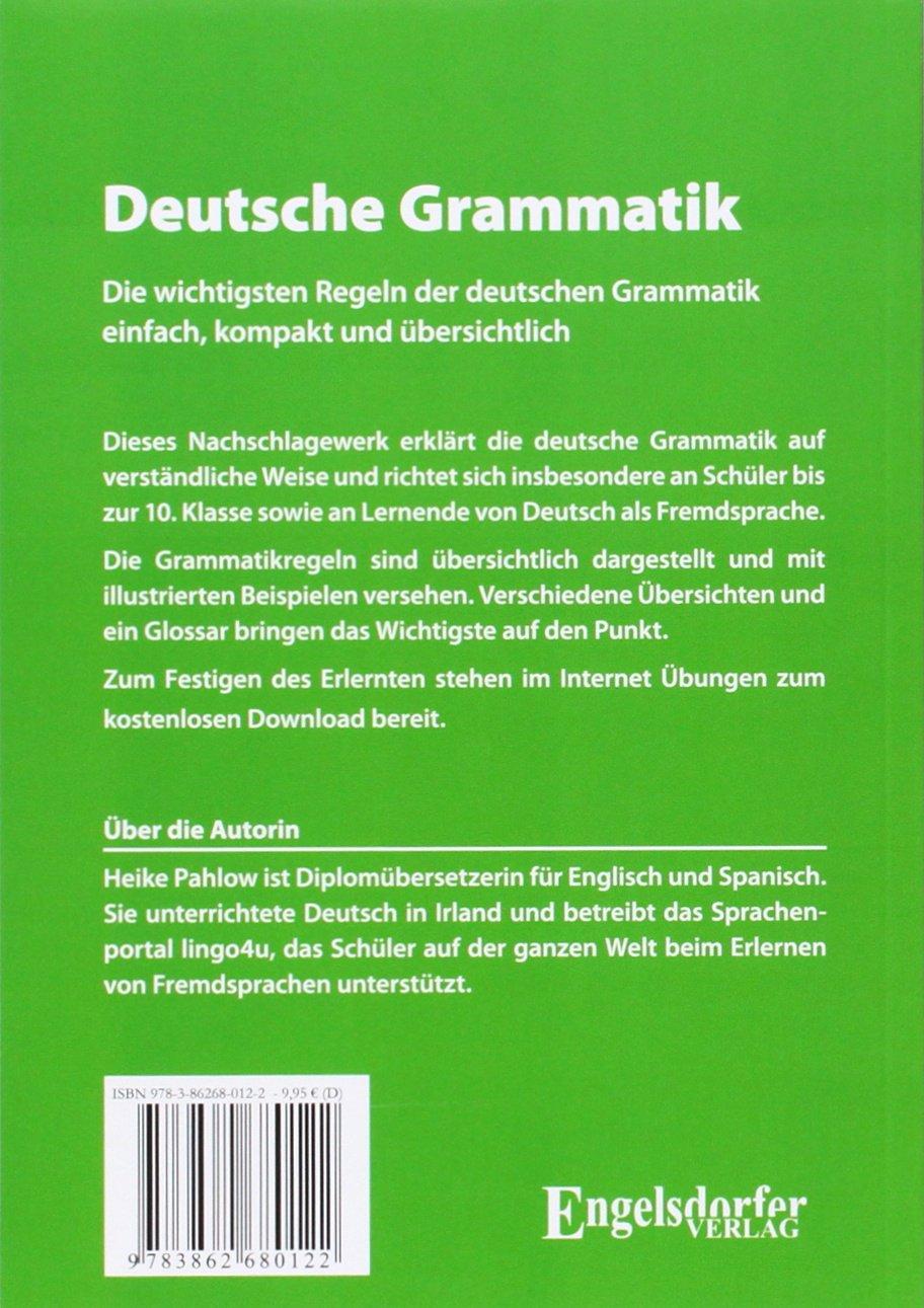 Deutsche Grammatik - einfach, kompakt und übersichtlich: Amazon.de ...