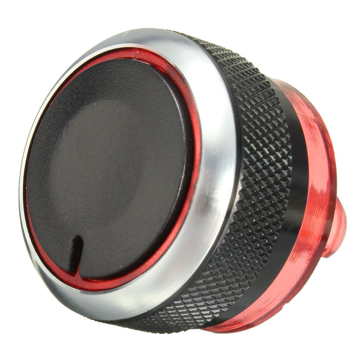 Heater Control Button - TOOGOO(R) Heater Air Control Dash Knobs Aluminium Button For Peugeot 206 207 Citroen C2 060653