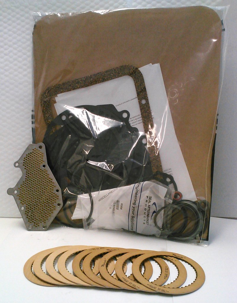 Ford C-4 C4 Transmission Rebuild Kit with Raybestos Clutches & Filter 1970-1981