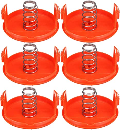 For Black/&Decker RC-100-P Spool Cap Cover NST2018 NST1024 LST1018 2 Pack//Set New