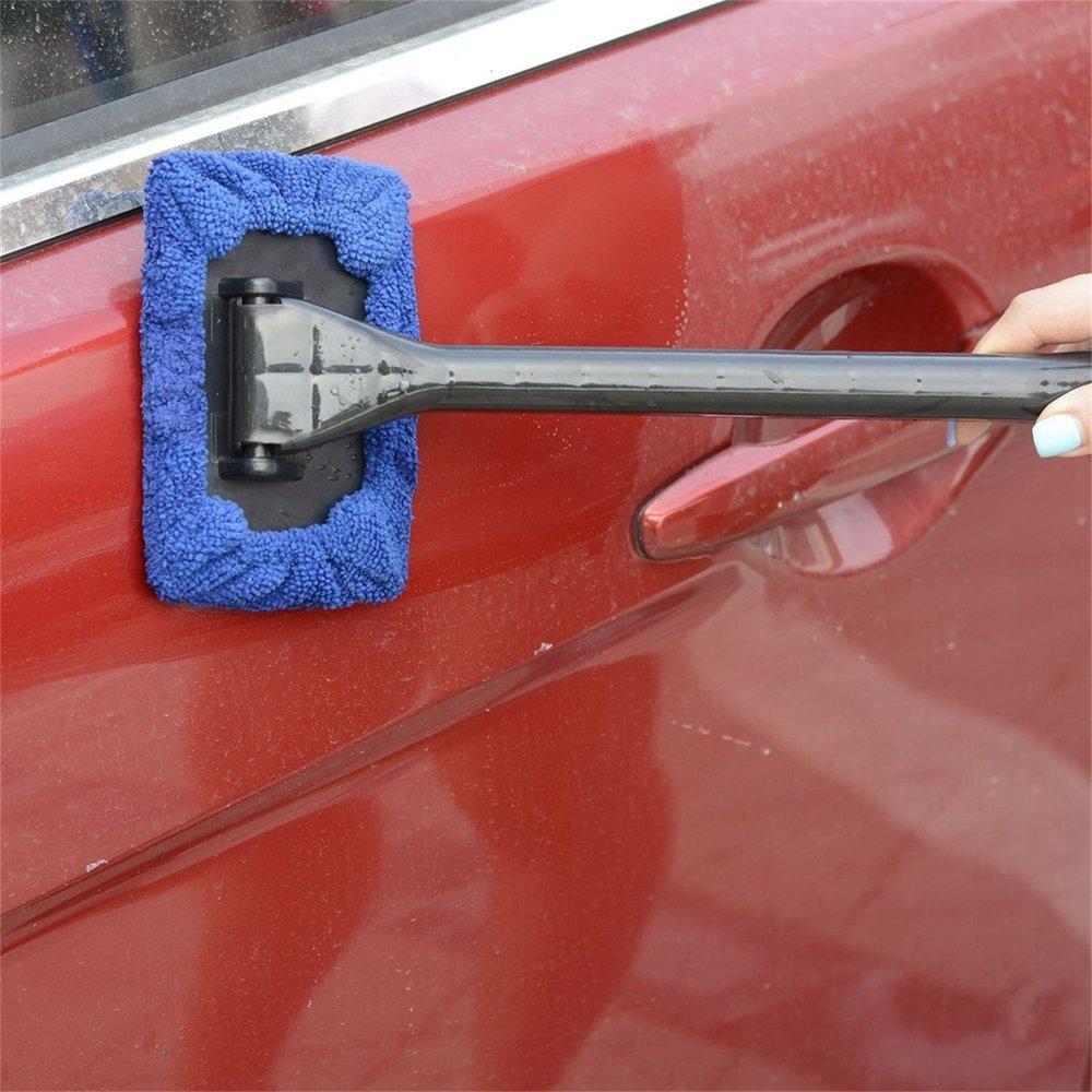 Erduo Facilit/à di Installazione Portatile Plastica Impiego Multiplo Manico ergonomico Microfibra Cofano Parabrezza Facile da Pulire per Il Vetro della casa Auto