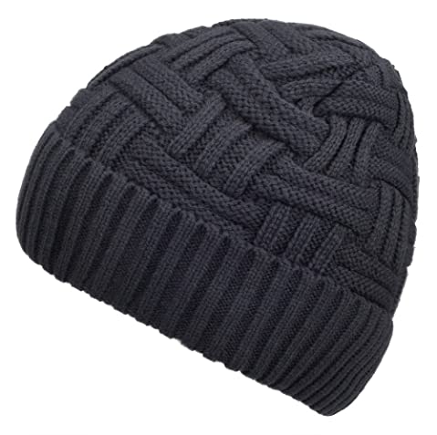 Spikerking Mens Winter Knitting Wool Warm Hat Daily Slouchy hats Beanie  Skull Cap 8d47b4b7088