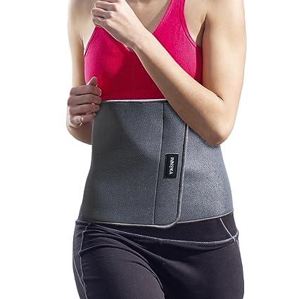 42c3ae39ac INNOKA Waist Trimmer Belt Back Support  Weight Loss  Slimming Body Shaper  Belt