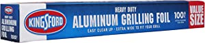 Kingsford Grilling 100 Square Feet Extra Wide Aluminum Foil, for Grilling, Cooking, And Steaming, Value Size